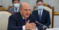 Председатель правительства РФ Михаил Мишустин принимает участие во встрече глав делегаций - участников Евразийского межправительственного совета стран ЕАЭС