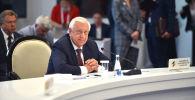 Председатель коллегии Евразийской экономической комиссии Михаил Мясникович на очередном заседании Евразийского межправительственного совета в Чолпон-Ате