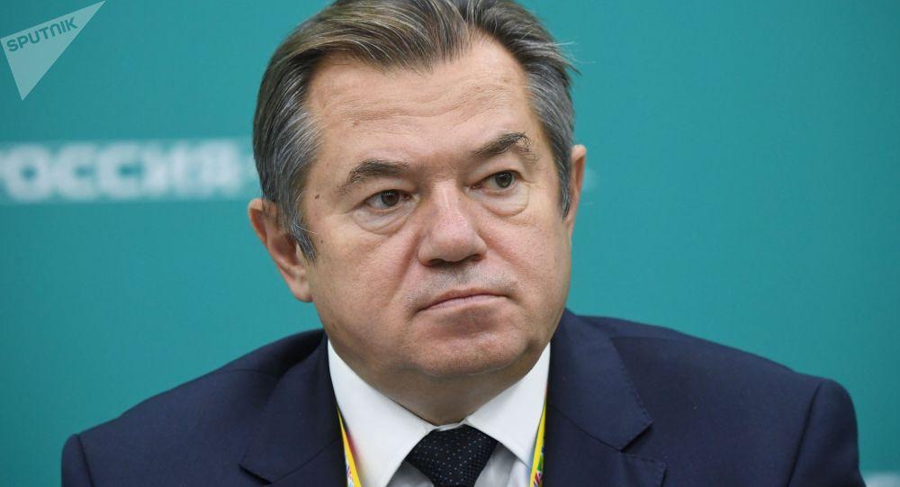 Член Коллегии (министр) по интеграции и макроэкономике ЕЭК Сергей Глазьев. Архивное фото