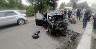 Ысык-Ата районунун Бишкек-Нарын-Торугарт унаа жолундагы жол кырсык