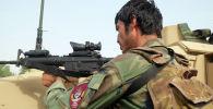 Военнослужащий правительственных войск Афганистана. Архивное фото
