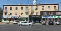 Фасад многоквартирного жилого дома по улице Киевской в Бишкеке отремонтирован