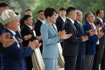 Токио Олимпиадасынын күмүш байгесин уткан кыргыздын балбан кызы Айсулуу Тыныбекова Ала-Арча мамлекеттик резиденциясында