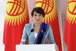 Токио Олимпиадасынын күмүш байгесин уткан кыргыздын балбан кызы Айсулуу Тыныбекова. Архив
