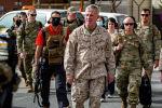 Эвакуация американских солдат в международном аэропорту Кабула (Афганистан)