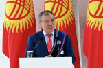 Кыргызстандын олимпиадалык категориядагы калысы Мейрамбек Ахметов. Архивдик сүрөт