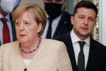 Германиянын канцлери Ангела Меркелдин жана Украинанын президенти Владимир Зеленский менен жолугушуусу