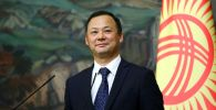 Министр иностранных дел КР Руслан Казакбаев. Архивное фото