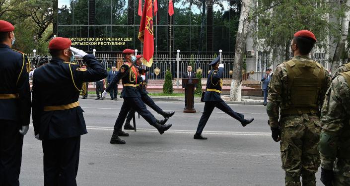 Торжественные мероприятия, посвященные 80-летию Внутренних войск Министерства внутренних дел страны. 24 августа 2021 года