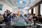 Ош шаарына Мухтар Умаров баштаган Өзбекстандын бизнести өнүктүрүү ассоциациясынын өкүлдөрү келишти