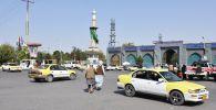 Повседневная жизнь во взятом под контроль движением Талибан (террористическая организация, запрещена в РФ) городе Мазари-Шариф.