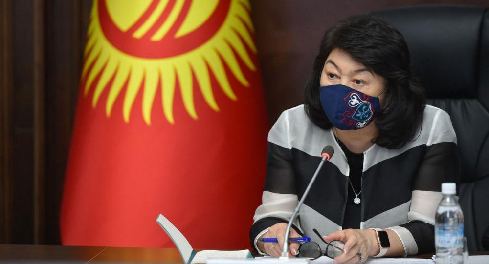 Заместитель председателя Кабинета Министров Кыргызской Республики Жылдыз Бакашова. Архивное фото