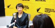 Токио Олимпиадасынын күмүш медалынын ээси, кыргыздын сыймыктуу кызы Айсулуу Тыныбекова. Архивдик сүрөт