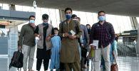 Афганистан Кабул шаарынан эвакуацияланган кишилер