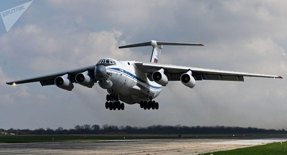 Ил-76МД учагы