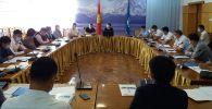 Кыргыз Республикасынын Коопсуздук кеңешинин катчылыгы иш учурунда