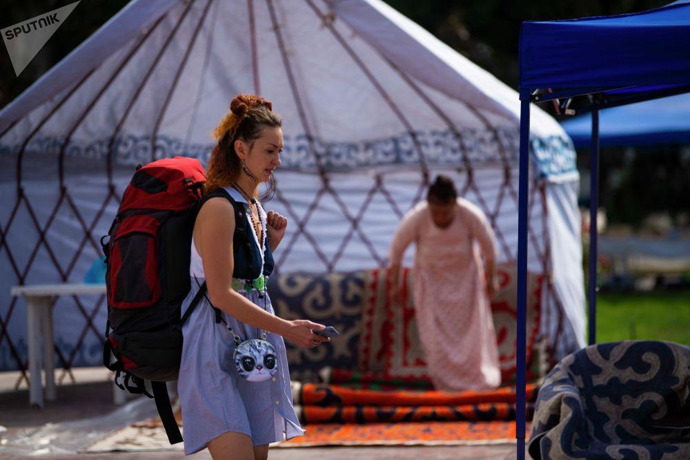 В ремесленной ярмарке участвуют не только мастера из Кыргызстана, но и стран Центральной Азии