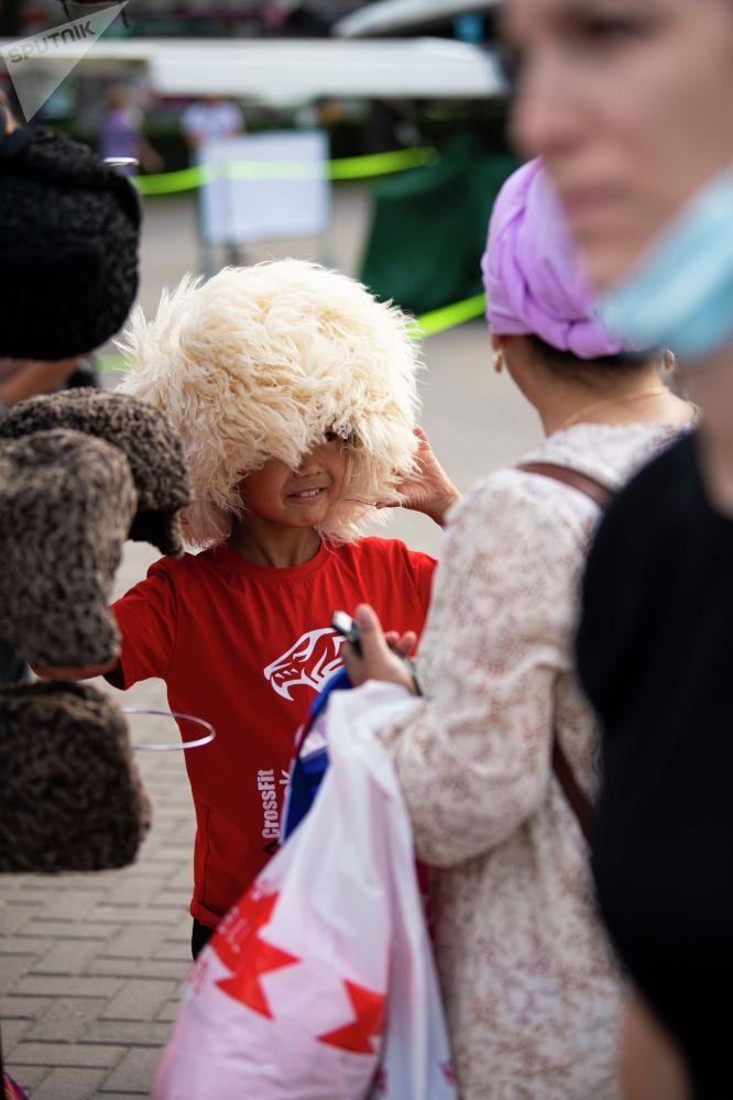 Ярмарка ждет жителей и гостей Кыргызстана с раннего утра до позднего вечера