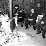 Борбор Азия мамлекеттеринин башчыларынын жолугушуусу. Аскар Акаев, Сапармурат Ниязов жана Нурсултан Назарбаев. Ашхабад шаары, 1991-жыл