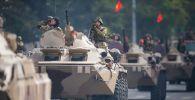 Бишкектеги Кыргызстандын эгемендүүлүк күнү майрамдоо