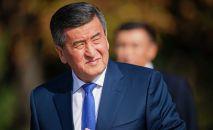 Кыргызстандын экс-президенти Сооронбай Жээнбеков. Архив