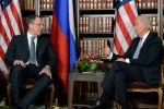 АКШнын президенти Жо Байден жана Россиянын тышкы иштер министри Сергей Лавров. Архивдик сүрөт