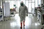 Оорукананын бөлүмүндөгү медициналык кызматкер