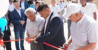 Открытие завода по производству жидкого азота