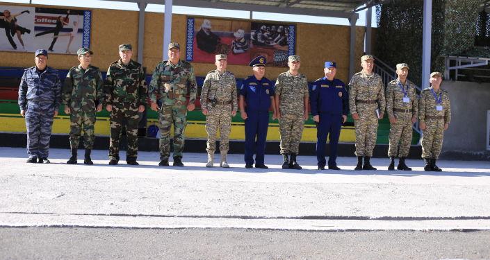 В Баткене прошла церемония открытия совместного командно-штабного и мобилизационного учения Юг-2021