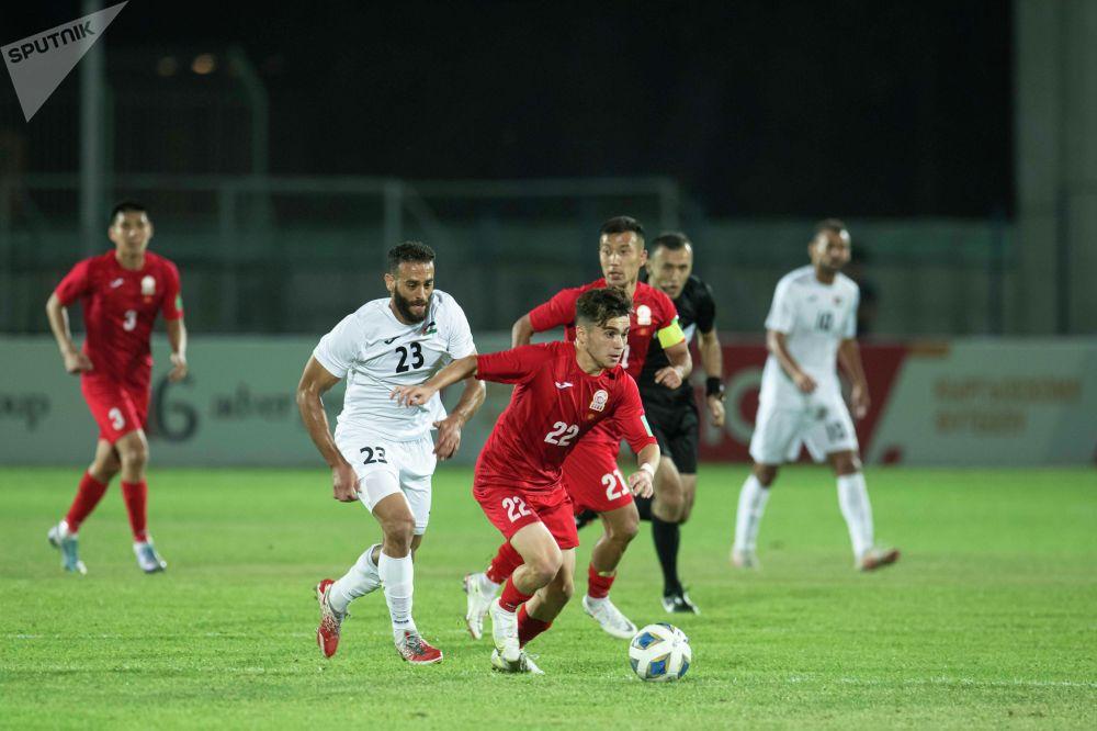 Кыргызстан — Палестина беттеши