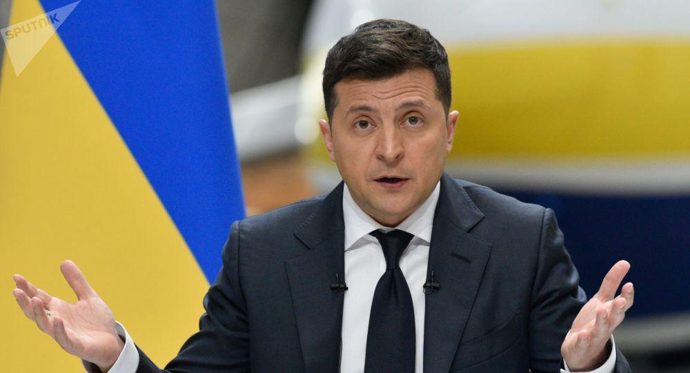 Украина президенти Владимир Зеленский