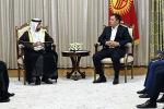 Кыргызстанга энергетика, айыл чарба, туризм жана инфраструктура чөйрөсүндөгү ири араб компанияларынын өкүлдөрүнөн турган делегация келип, аларды президент Жапаров кабыл алды