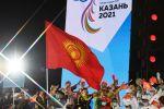 Кыргызстан желеги КМШ Оюндарында