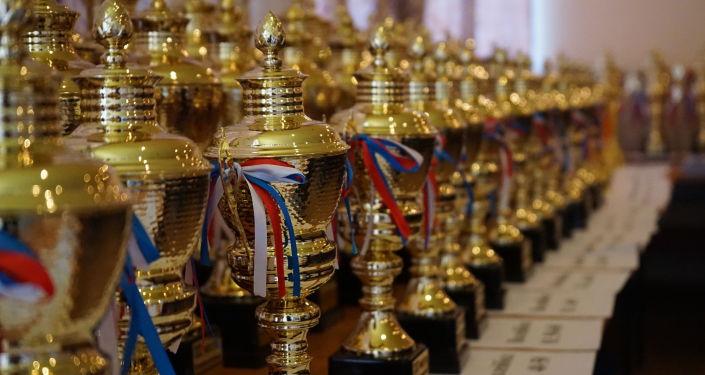 Призы ХХ Международных иссык-кульских играх в селе Бактуу-Долоноту. 05 сентября 2021 года