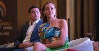 Прибытие звезды турецкого сериала Мерьем Узерли в Кыргызстан