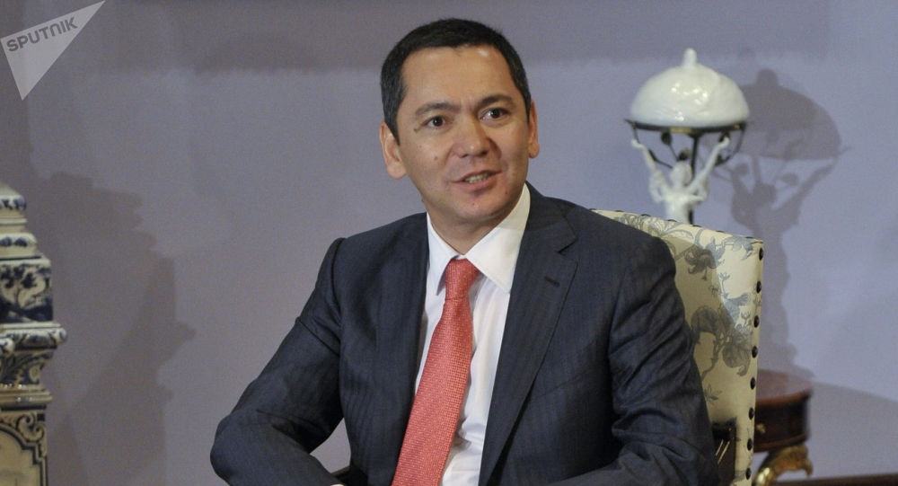 Политик Омурбек Бабанов. Архивное фото