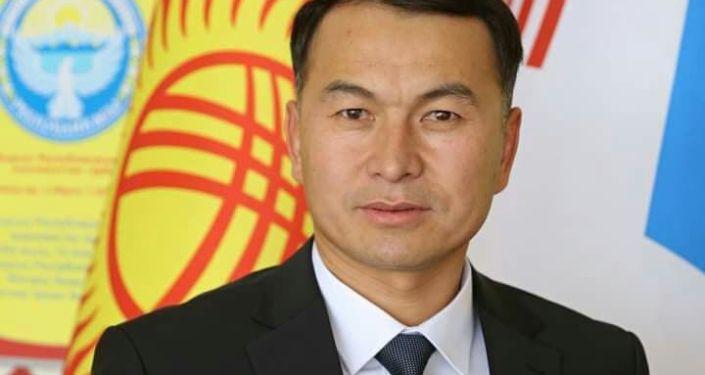 Новый вице-мэр Сонунбек Джунусбаев во время совещания. 06 сентября 2021 года