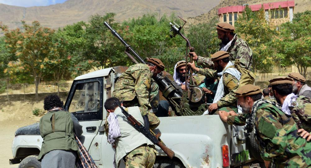 Афганистандын Панджшер провинциясындагы аскер кызматкерлери