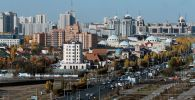 Город Нур-Султан, Казахстан. Архивное фото