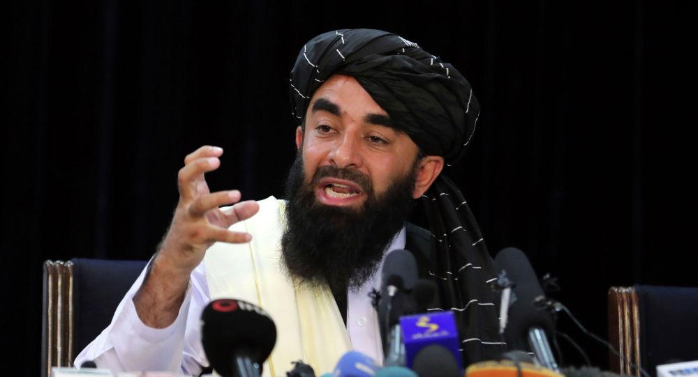 Талибан* кыймылынын өкүлү Забиулла Муджахид