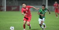 Сборные Кыргызстана и Бангладеша в рамках матча Кубка трех наций в Бишкеке