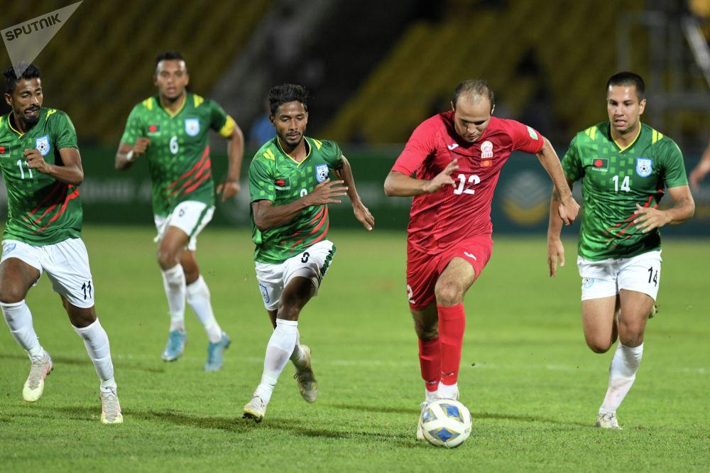 Сборная Кыргызстана в рейтинге FIFA находится на 101-й строчке, а команда Бангладеш на 188-м