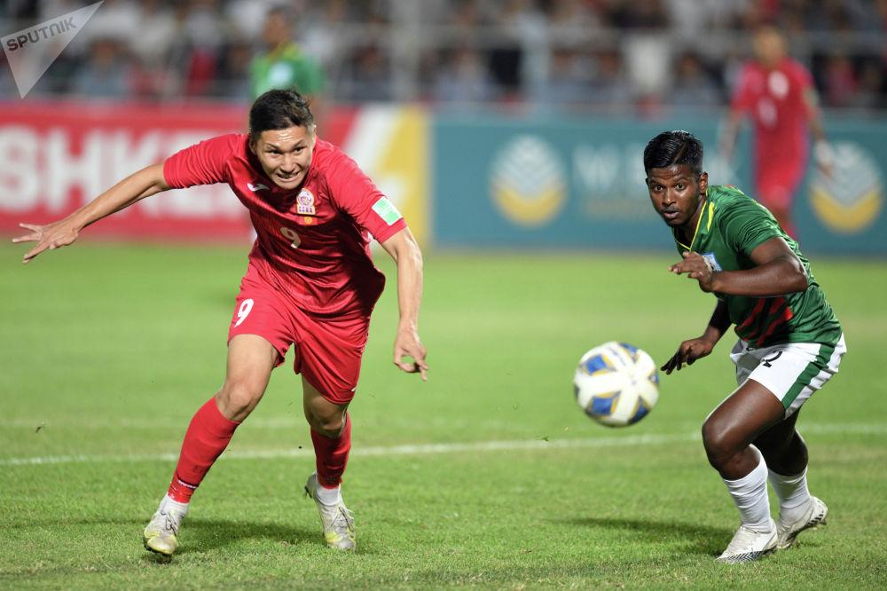 Сборная Кыргызстана практически весь матч провела у ворот соперников
