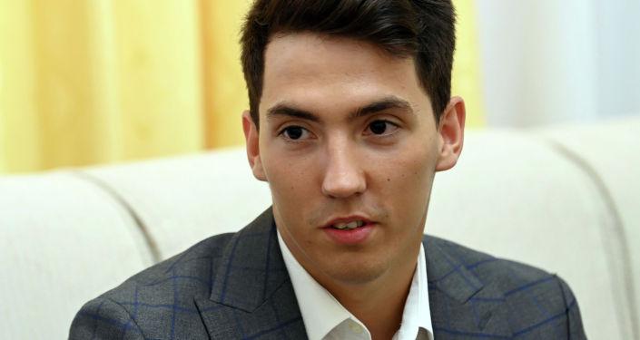 Кыргызстанский пловец, мастер спорта Владислав Шулико