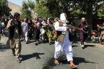 Кабулда Талибан согушкерлери. Архив