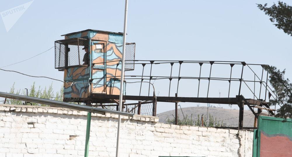 Наблюдательный пункт на территория колонии № 27 в Молдовановке. Архивное фото