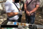 Задержание сотрудника УВД за вымогательство взятки в Бишкеке