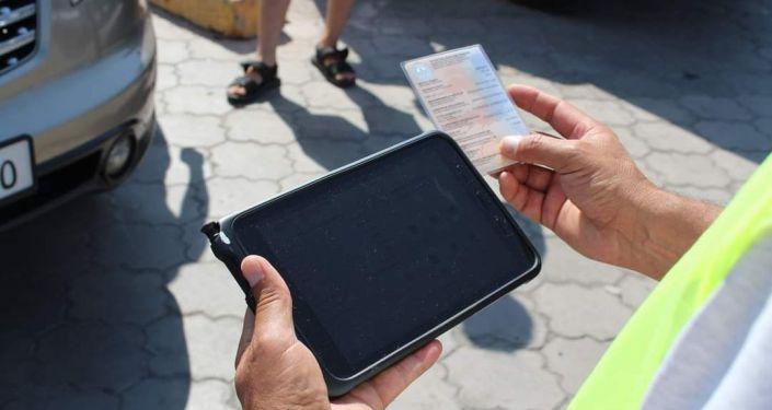 Процедура фотографирования автомашин при регистрации в ГУ Унаа. 10 сентября 2021 года