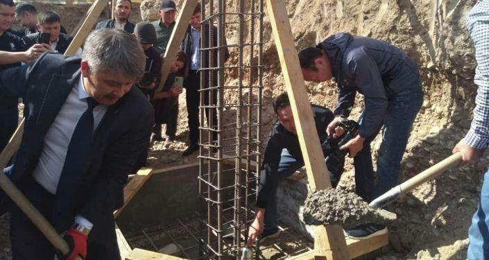 В городе Талас дан старт международной библиотеки имени Чингиза Айтматова