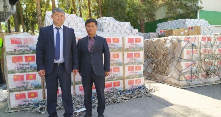 13 сентября 2021 года в Международный аэропорт Манас прибыл гуманитарный груз из Китая, состоящий из средств индивидуальной защиты